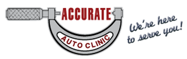 Accurate Auto Clinic Retina Logo